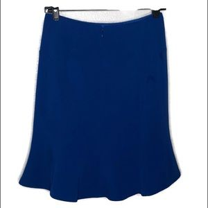 Calvin Klein blue skirt with lining size 2P.